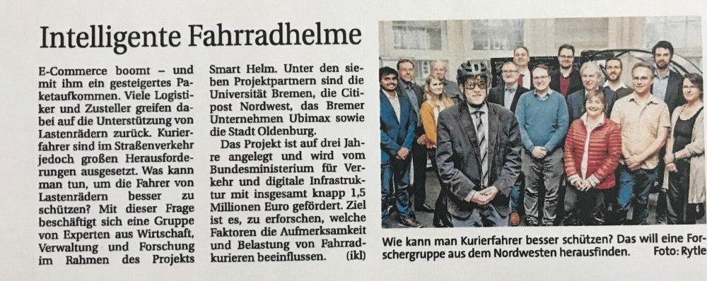 Zeitungsausschnitt-Pressemitteilung
